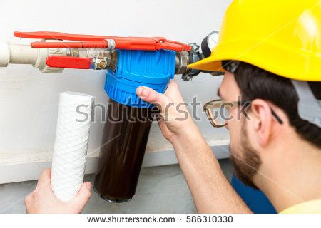 Water Filter Stock Images Royalty Free Images Vectors Water Filtration System Water Filtration Water Filter