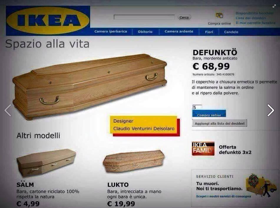IKEA Defunktio Spazio alla vita