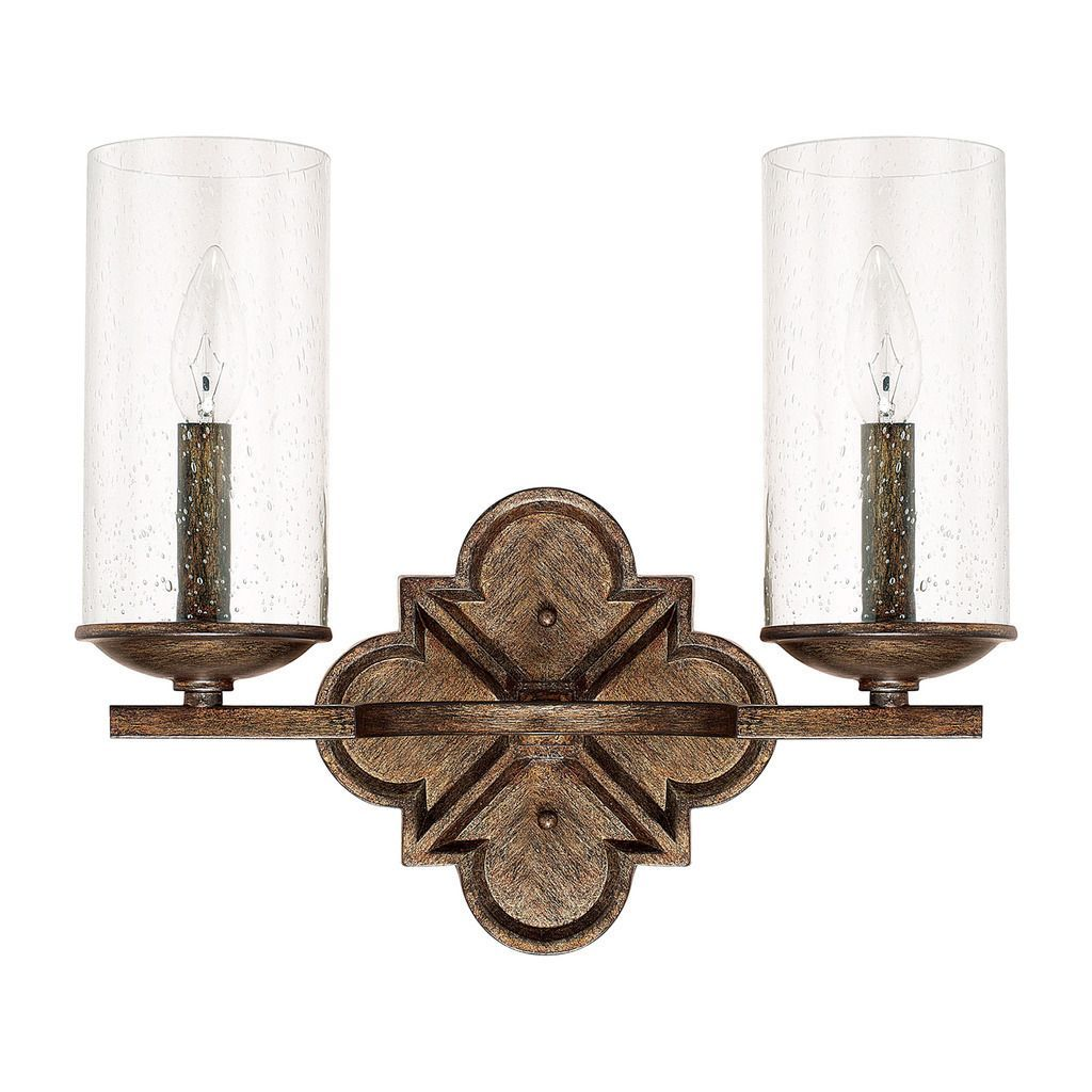 Capital Lighting Avanti Collection 2-light Rustic Bath/Vanity Light