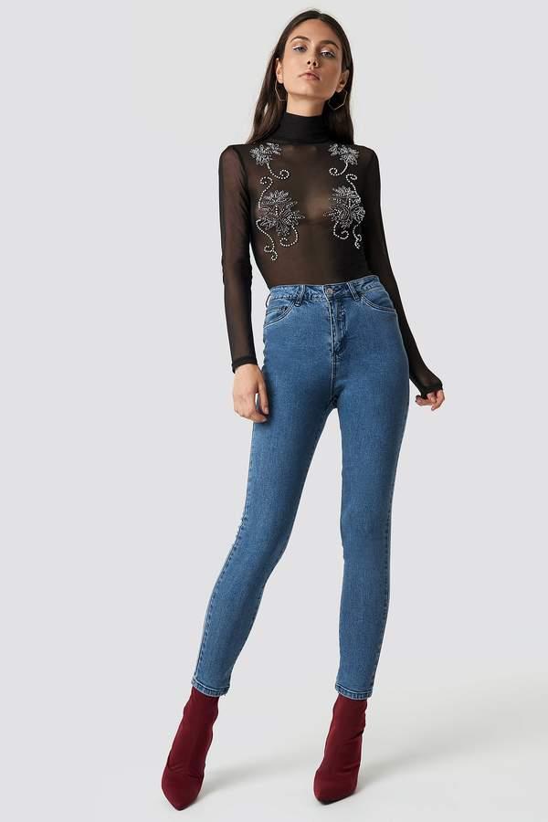 ca05a206784d Di Lara Dilara X Na Kd Basic Skinny Jeans Blue Denim