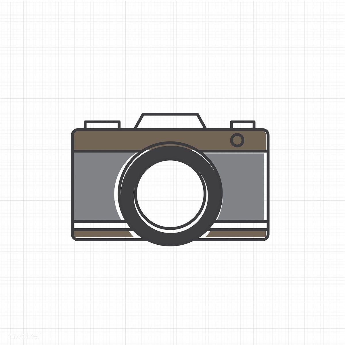 Vector Of Camera Icon Free Image By Rawpixel Com Camera Icon Camera Illustration Vintage Film Camera