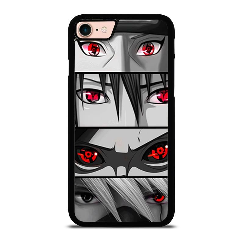 Naruto Sharingan Eye Anime Iphone 8 Case Cover Iphone 7 Plus Cases Sharingan Eyes Iphone Case Covers