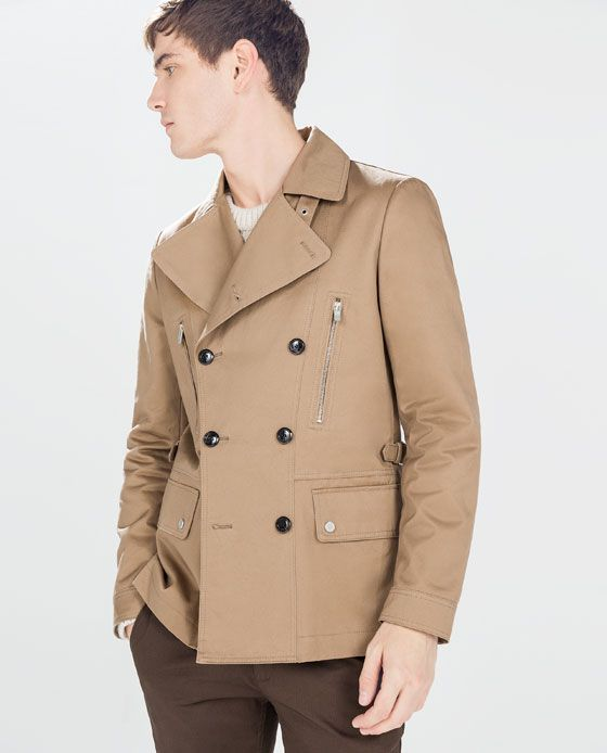 ZARA - SALE - DOUBLE-BREASTED TRENCH COAT | A new look ...