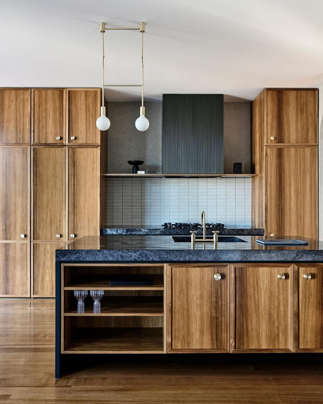 """Natural Pine Kitchen Cabinets: Edelman On Instagram: """"These Natural Wood Cabinets Are"""