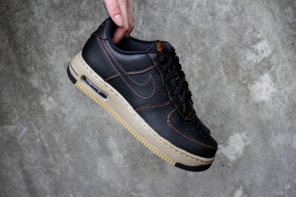 NIKE AIR FORCE 1 ELITE BLACK TAWNY | Nike air force, Nike