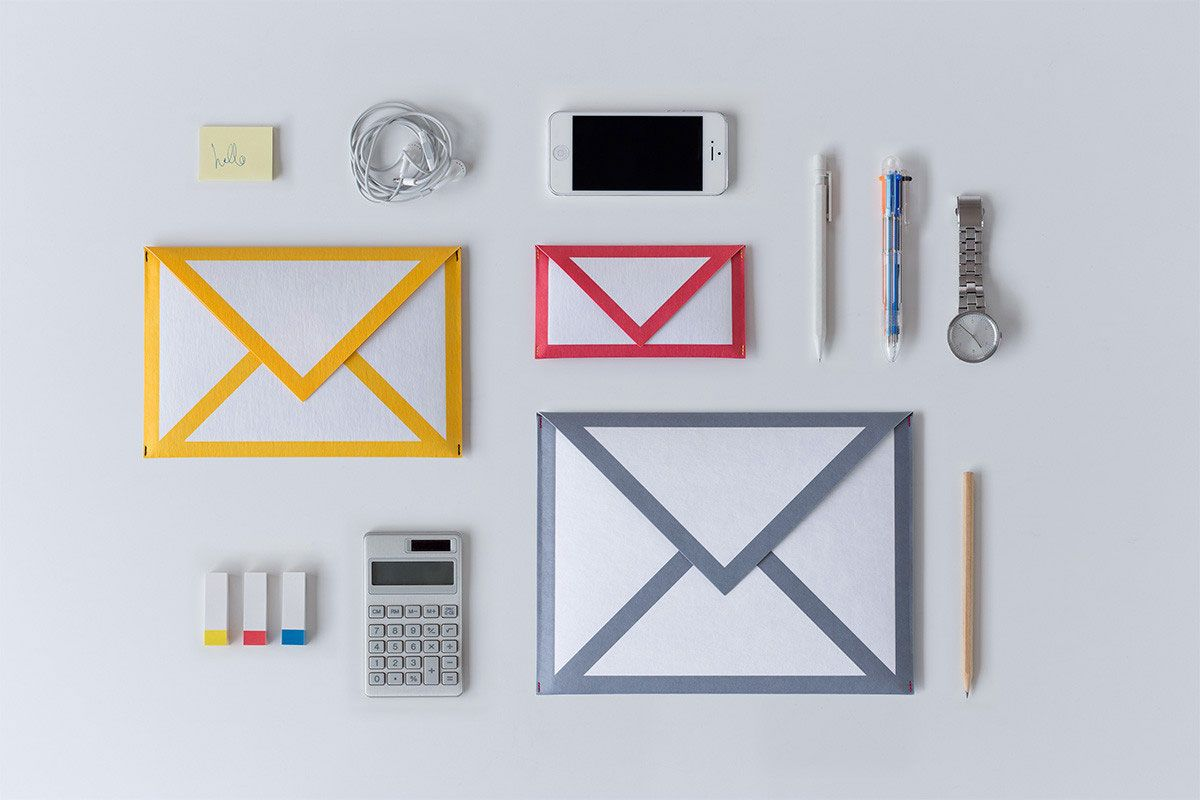 Mail Icon Paper Sleeves Bundle by Little Factory