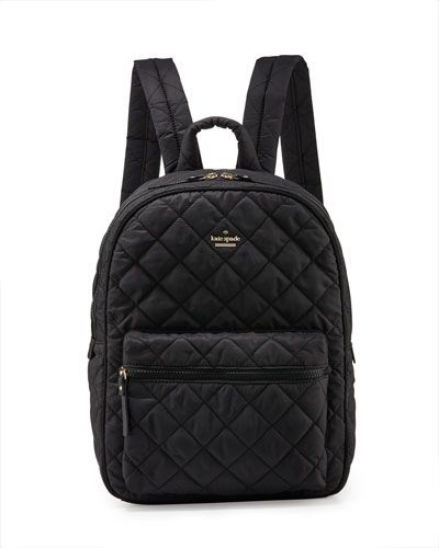 41e70f1ac9f V2XE0 kate spade new york ridge st. siggy quilted backpack, black ...