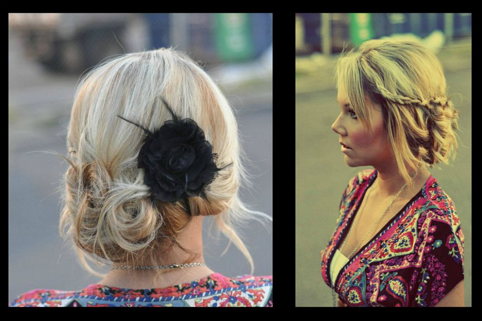 Cute Quick Hairstyles Brilliant 3 From Day To Evening Hair 3 Cute & Quick Hairstyles How To Do