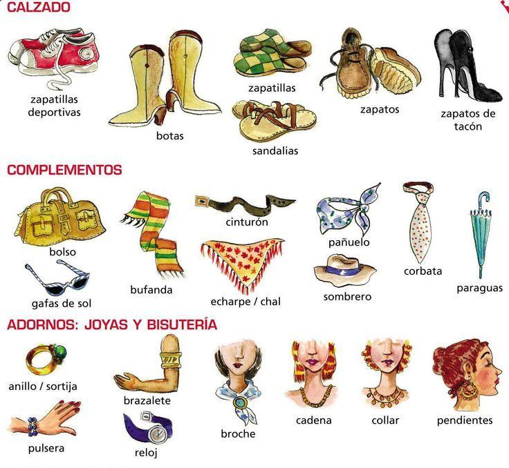 La ropa. ¡Nos vamos de compras!   Search, Spanish and Spanish ...
