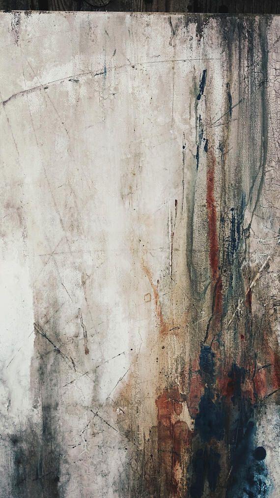 Original Abstract Painting 24 X 24 Minimalist Canvas Wall Art Abstract Painting Abstract Abstract Art Painting