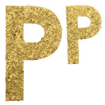 P Gold Glitter Letters Glitter Letters Scrapbook Paper Crafts Lettering