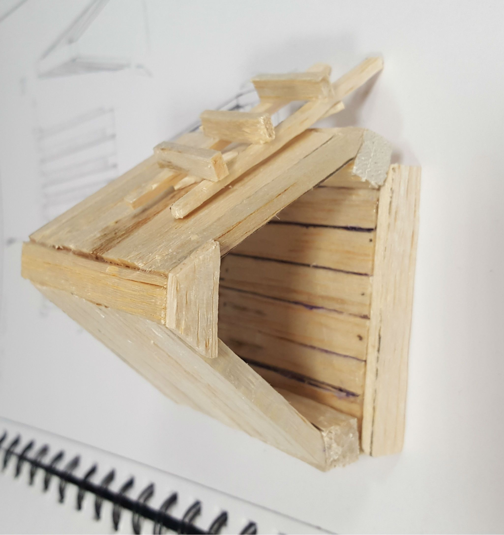 Balsa Wood Wood Crafts Material