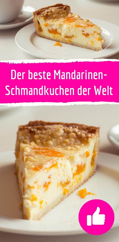 Rezept für Mandarinen-Schmandkuchen