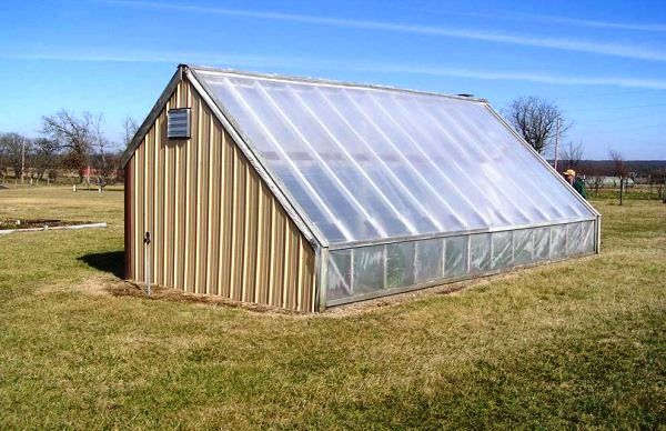 Chinese Passive Solar Greenhouse Exterior Greenhouse
