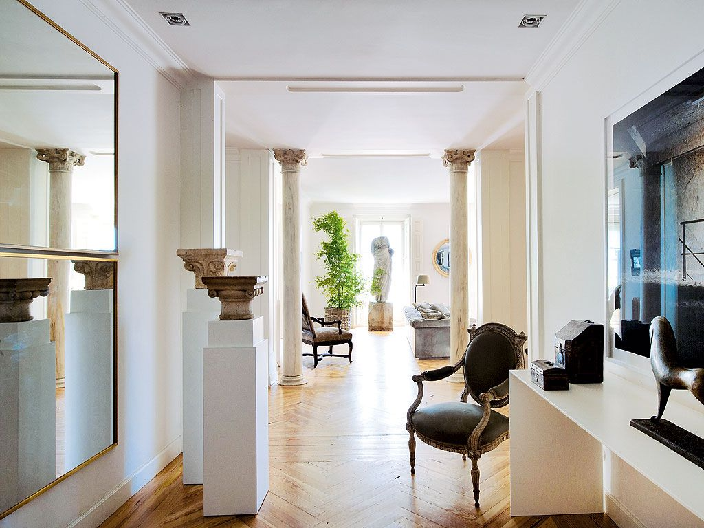 Foyer Apartments Clapham South : Interiors madrid apartment by luis puerta