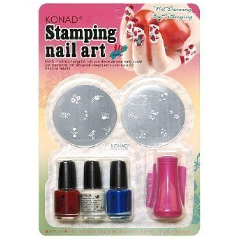 Konad Set Starter Kit for Stamping Nail Art by KONAD BEAUTY * Click ...