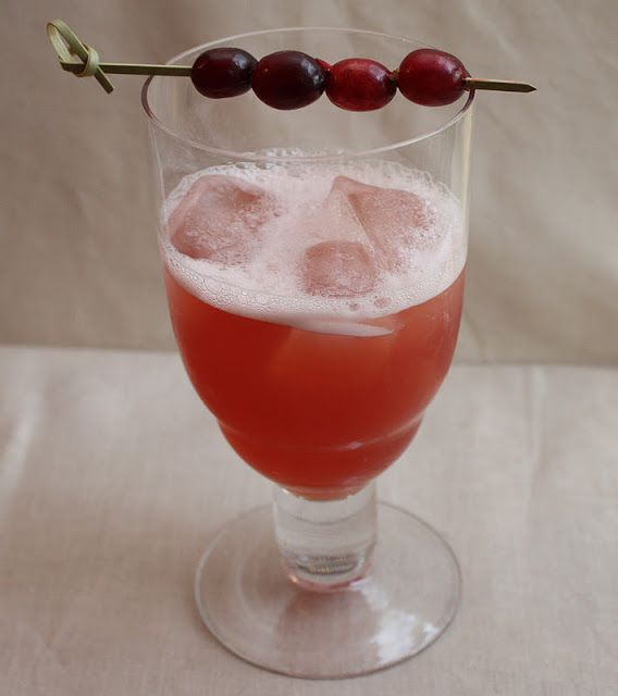 Apple Cider, Cranberry, Vanilla Vodka