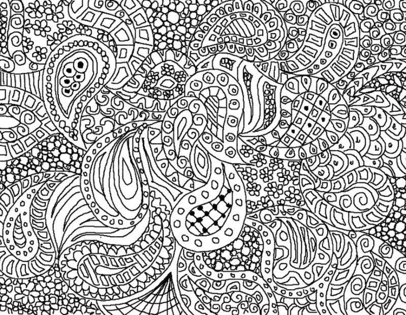 Zentangle Dificil Com Imagens Paisley Doodle Desenhos Do