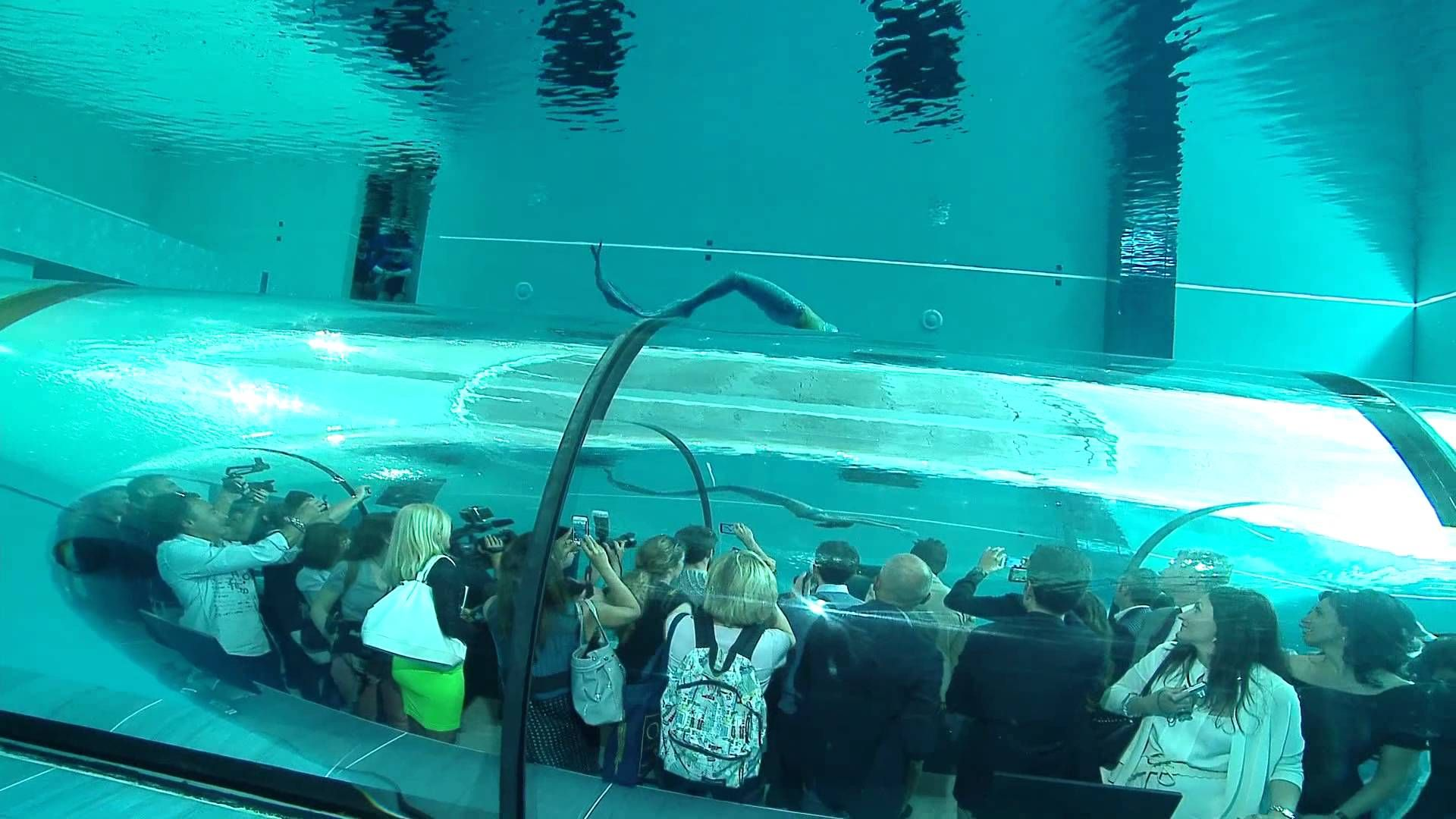 World S Deepest Pool Y 40 Inauguration Ii Deep Pool Pool