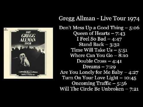 Gregg Allman Live Tour 1974 Dolp Vinyl Rip Full Album Best Song Ever Record Album Album
