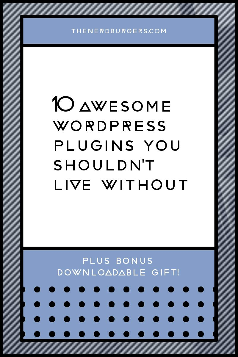 Here's my list of 10 awesome FREE Wordpress plugins I use and couldn't live without + BONUS 5 powerful plugins you should know about (and use!) Discover what they are so you can use them too so click on to discover the secret Wordpress plugins I love or save the pin now and read later!