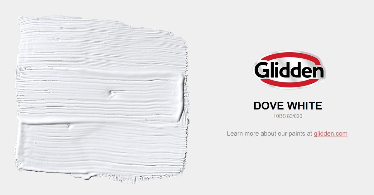 This Cool White Is Ideal For A Large Open Floor Plan Coordinate Marble Or Granite Countertops With Elegant Look Glidden Paint Colors