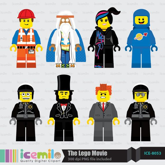 the lego movie digital clipart lego birthday pinterest lego rh pinterest com The LEGO Movie the Essential Guide All the LEGO Movie Characters