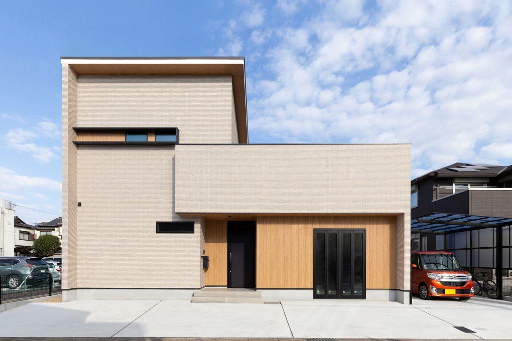 施工実例 愛知 名古屋の注文住宅はクラシスホーム 外観 グレー