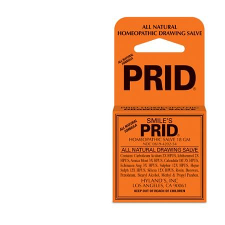 Smile's Homeopathic Drawing Salve Prid, 18 G | Health