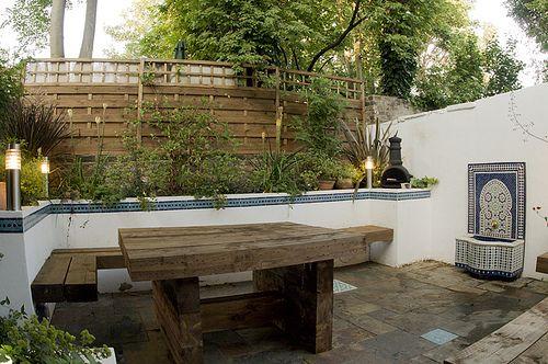 The Moroccan Courtyard Garden by Earth Designs wwwearthdesignsco