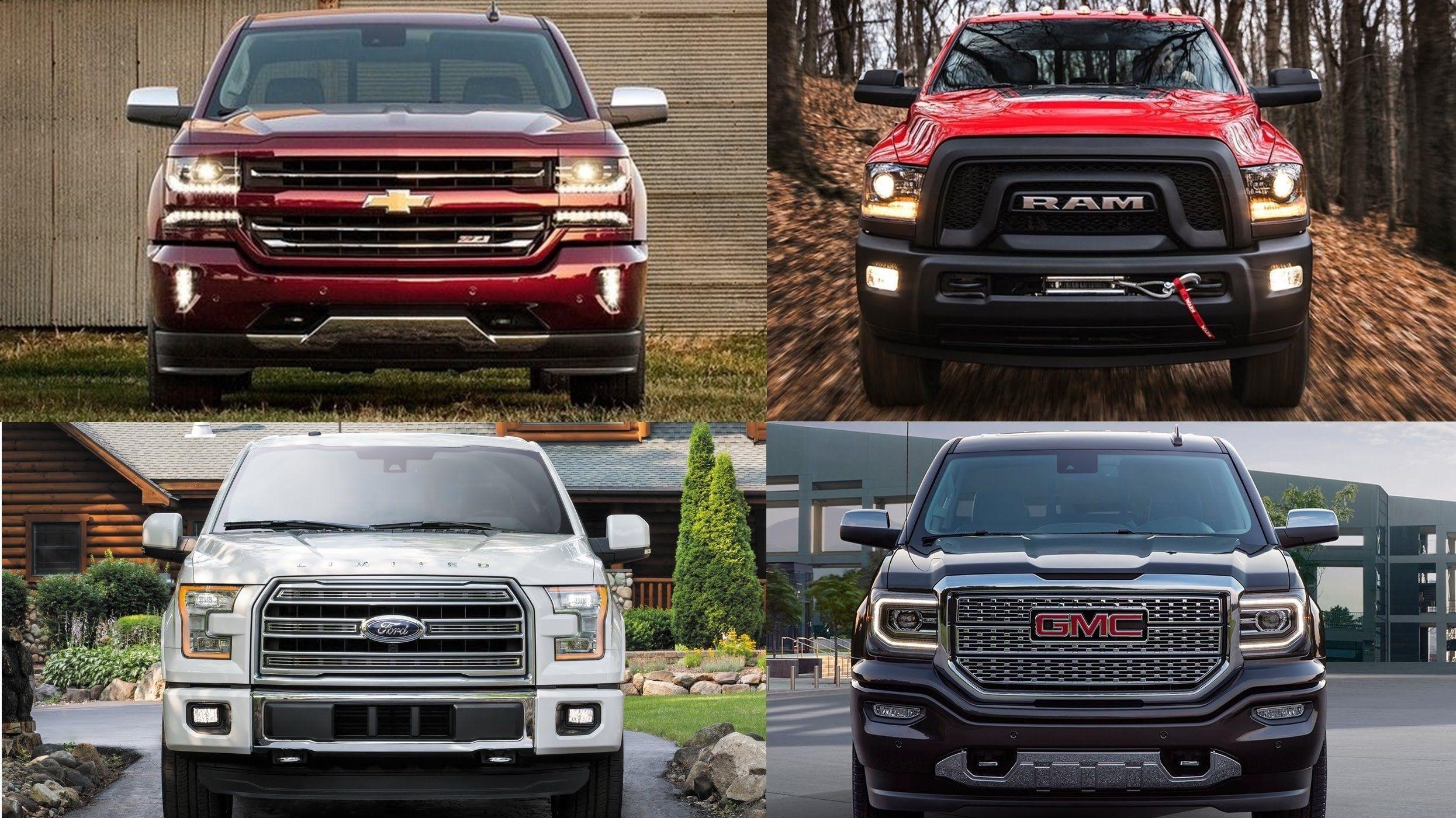 Top 6 Best Full Size Pickup Trucks 2016 2017