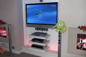 Floating Shelves For Stereo Components Google Search Floating