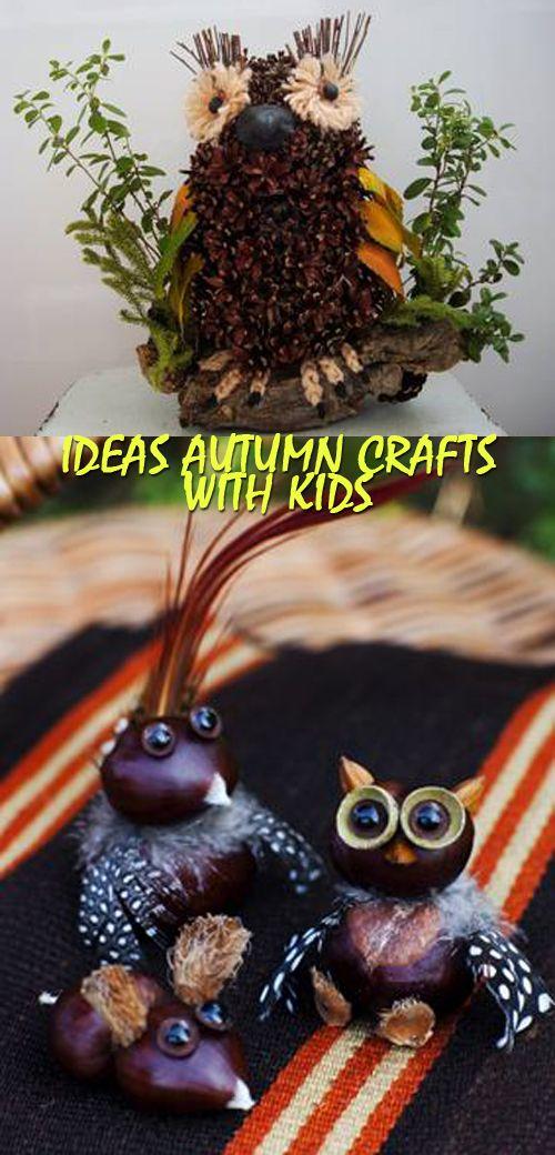 IDEAS Autumn Crafts with kidsIDEAS Autumn Crafts with kids