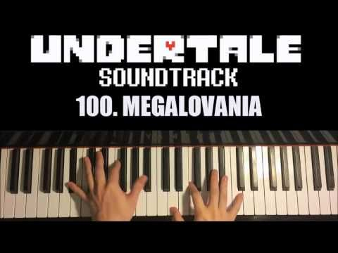 Undertale Ost 100 Megalovania Advanced Piano Cover With