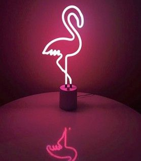 Lampe Neon Flamant Rose H O M E S W E E T H O M E Pinterest