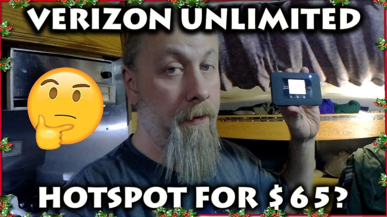 Verizon's $65 Prepaid UNLIMITED HOTSPOT Plan WORTH IT For RV NOMADS