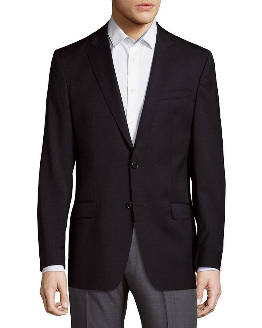 VERSACE LONG SLEEVE WOOL BLAZER.  versace  cloth Mens Tailor, Versace Men, 30ee910196a