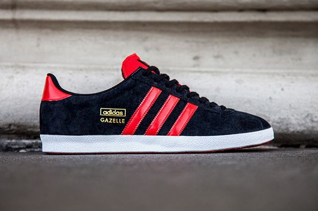 adidas Gazelle OG - Black Red  sneakers  455324cf6