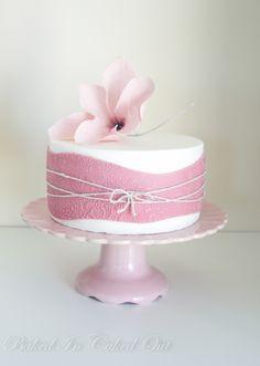 Fine Simple Pink White And Black Birthday Cake Designs Google Search Personalised Birthday Cards Akebfashionlily Jamesorg