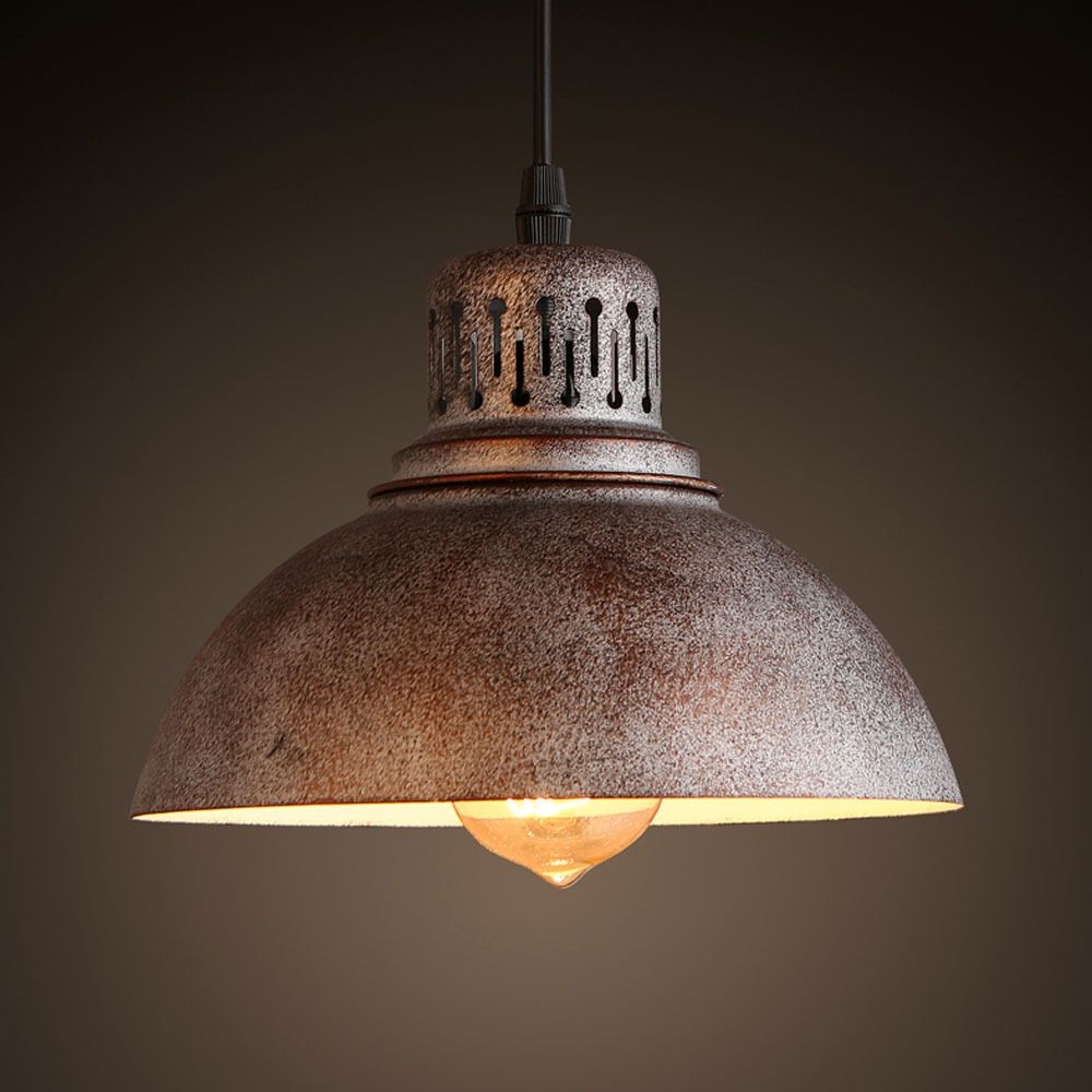 industrial lighting chandelier. Industrial Chandelier Light Lamp Shade Sconces Iron Pendant Loft Fixture Lighting