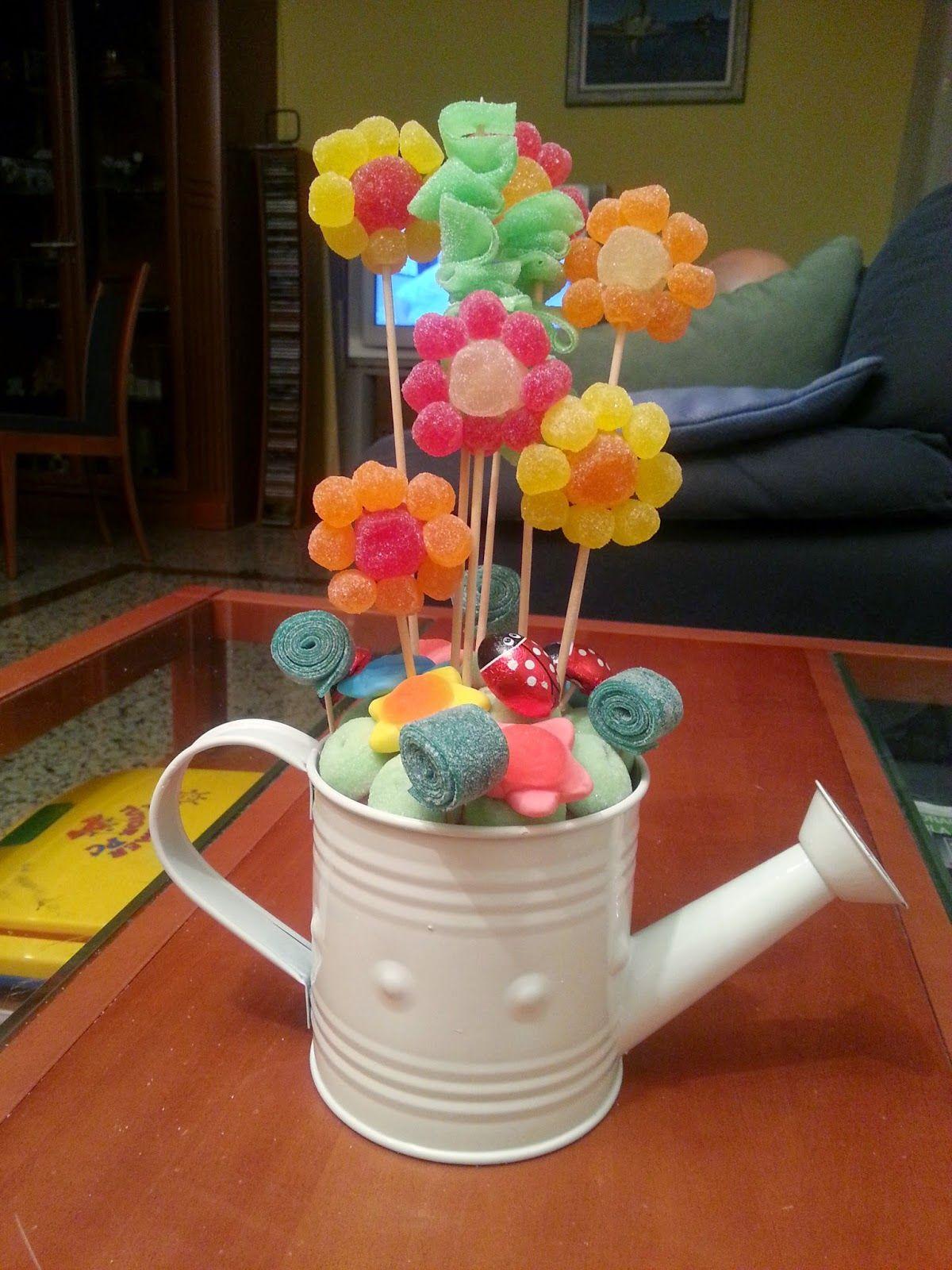 Blog sobre creaciones dulces con chuches gallina pintadita blog sobre creaciones dulces con chuches candy barscandy flowerscandy izmirmasajfo