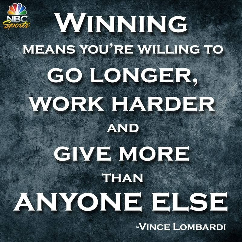 Vince Lombardi Quotes Inspiration Vince Lombardi Quotes  Google Search  Buckeyes  Pinterest  Vince