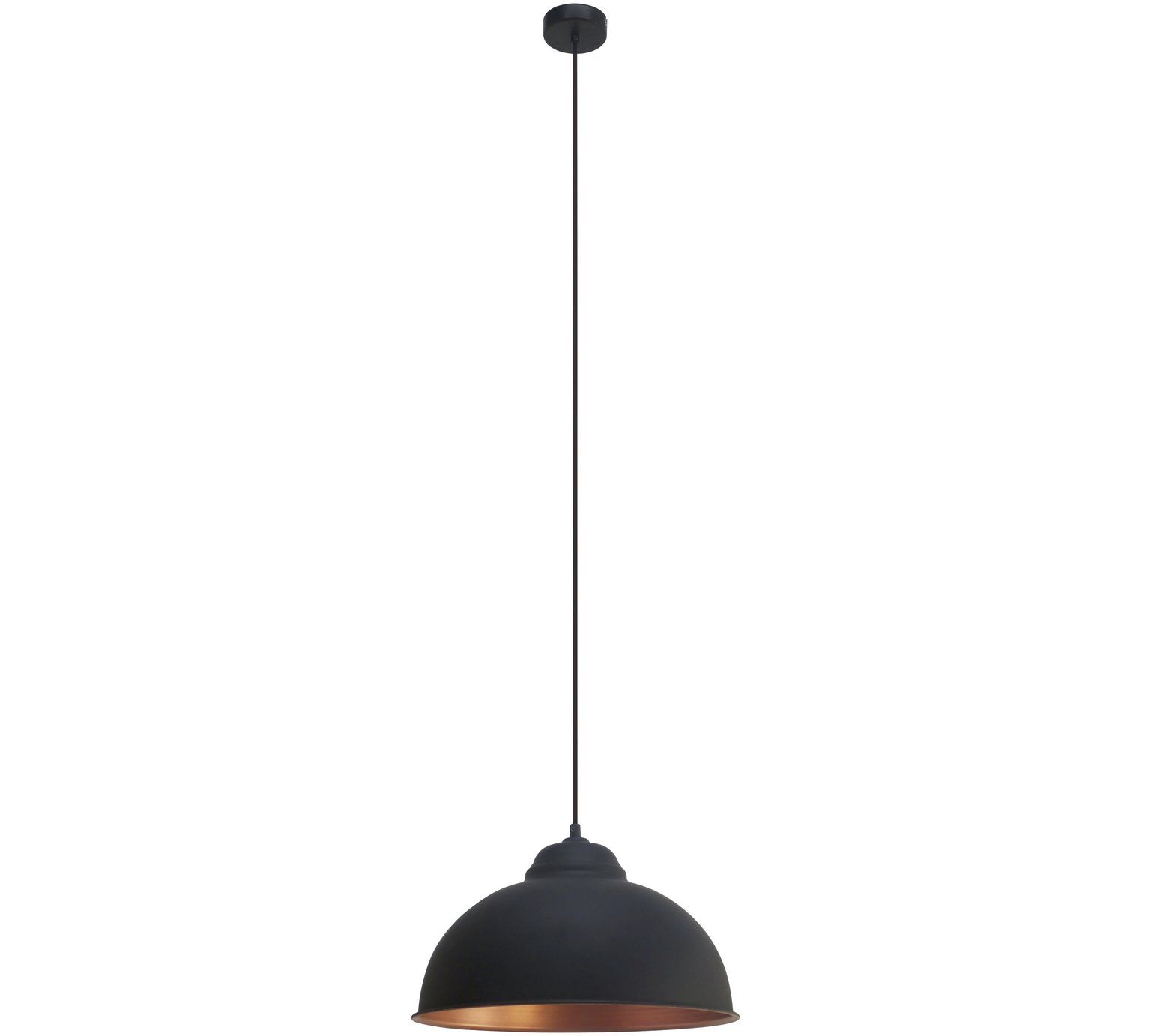 Buy Eglo Truro Pendant Light - Black and Copper at Argos.co.uk ...
