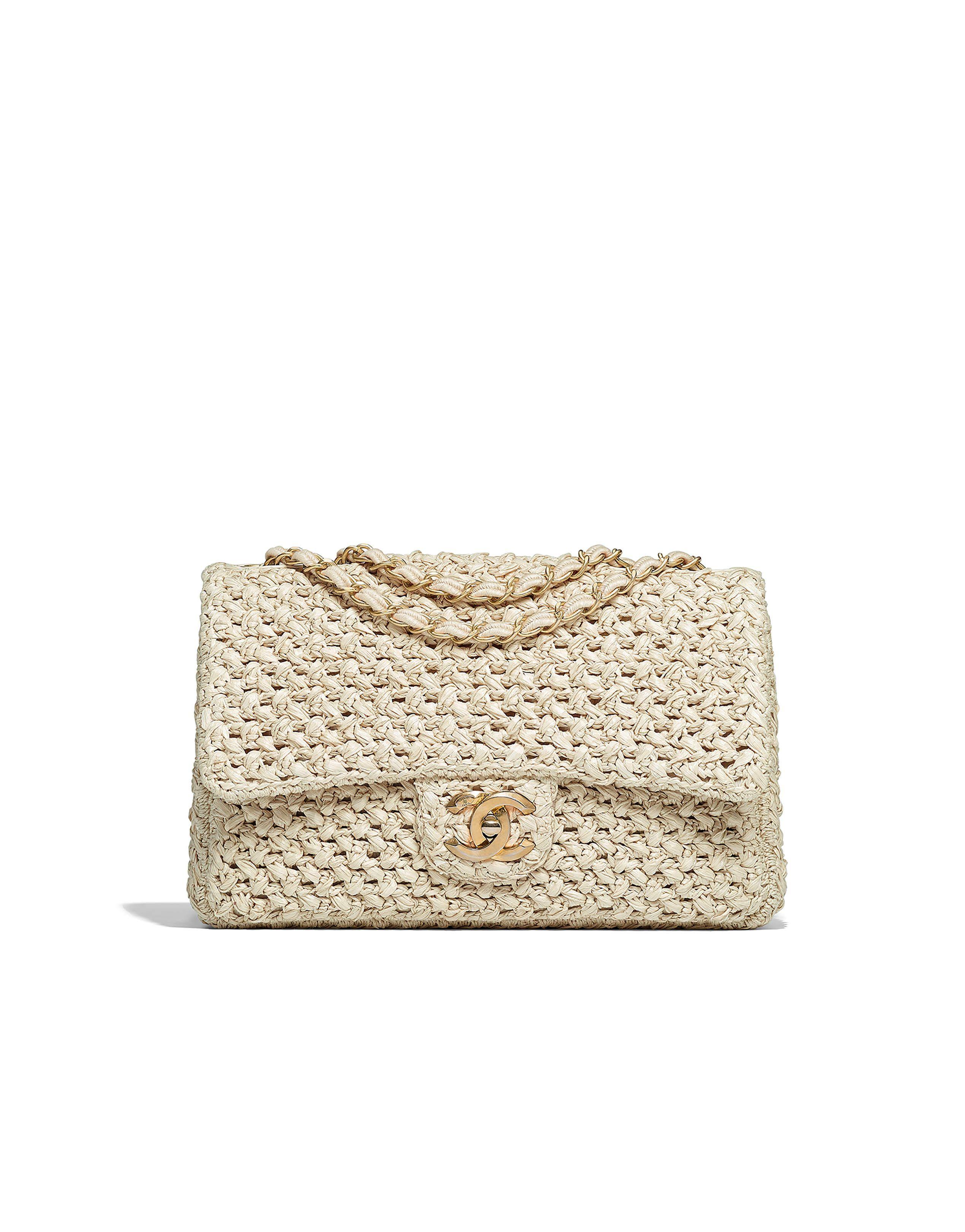 723fb6774a1a Chanel - Cruise 2017 2018   Crochet flap bag   Chanel handbags ...