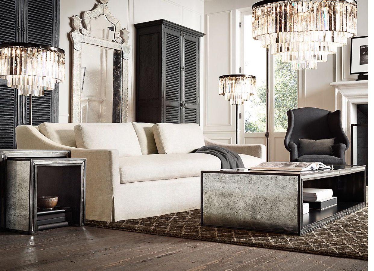 35++ Restoration hardware living room sofas ideas