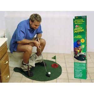 $14.00 Potty Putter Toilet Golf Game