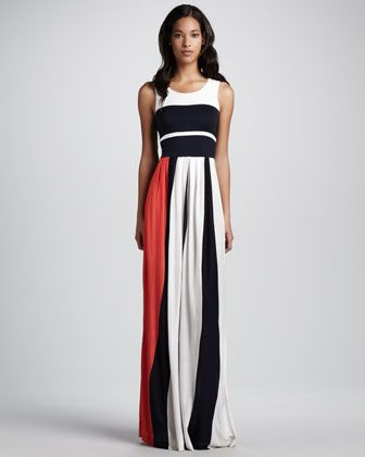 a0170e576f3 Medina Striped Maxi Dress by French Connection at Neiman Marcus ...