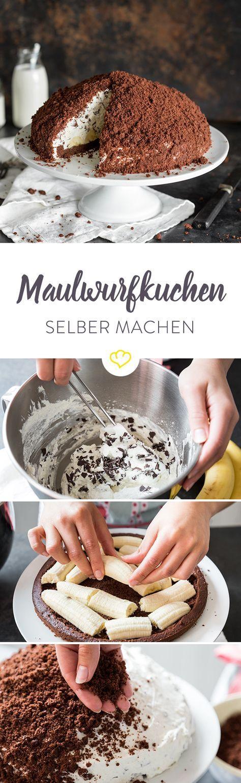 Backmischung adé: Maulwurfkuchen selber machen #dessertfoodrecipes