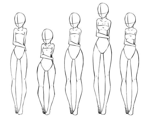 Body Type Part 2 By Rika Dono On Deviantart Body Type Drawing Girl Drawing Art