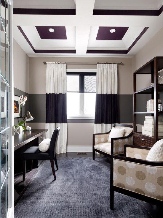 Rideaux et murs qui match home office photos design pictures remodel decor and ideas page 8